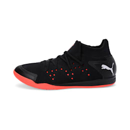 Sharp XT NETFIT 1 Men's Shoes, Puma Black-Silver-Nrgy Red, small-IND