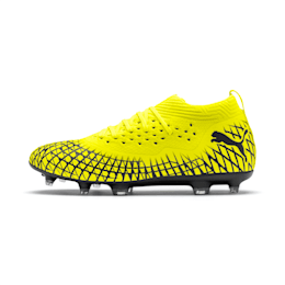 FUTURE 4.2 NETFIT FG/AG Men's Football Boots, Yellow Alert-Puma Black, small