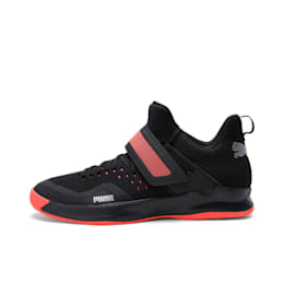 Rise XT NETFIT 2 Shoes, Puma Black-Silver-Nrgy Red, small-IND