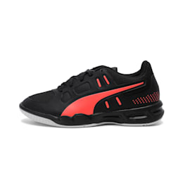 Auriz Youth Shoes, Black-Nrgy Red-Puma White, small-IND
