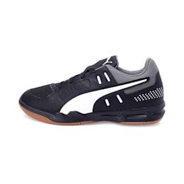 Auriz Youth Shoes, Black-White-CASTLEROCK-Gum, small-IND