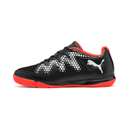 Sharp XT 2 Youth Shoes, Black-Puma White-Nrgy Red, small-IND