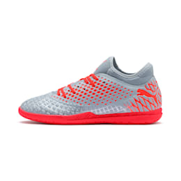 FUTURE 4.4 IT Men's Soccer Shoes, Glacial Blue-Nrgy Red, small