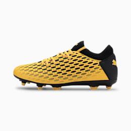 Męskie buty piłkarskie FUTURE 5.4 FG/AG, ULTRA YELLOW-Puma Black, small