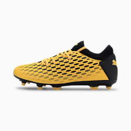 Scarpe da calcio FUTURE 5.4 FG/AG uomo, ULTRA YELLOW-Puma Black, small