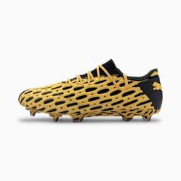 Niskie męskie buty piłkarskie FUTURE 5.1 NETFIT FG/AG, ULTRA YELLOW-Puma Black, small