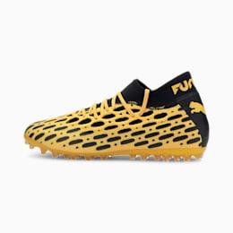 Męskie buty piłkarskie FUTURE 5.2 NETFIT MG, ULTRA YELLOW-Puma Black, small