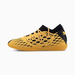Męskie buty piłkarskie FUTURE 5.3 NETFIT IT, ULTRA YELLOW-Puma Black, small