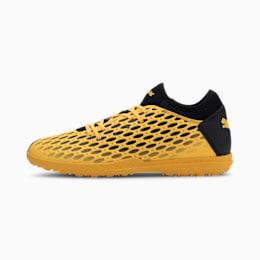 Botas de fútbol para hombre FUTURE 5.4 TT, ULTRA YELLOW-Puma Black, small
