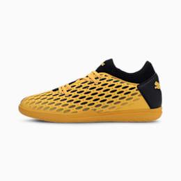Botas de fútbol para hombre FUTURE 5.4 IT, ULTRA YELLOW-Puma Black, small