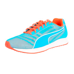 Burst Running Shoes, atomic blue-red blast, small-IND