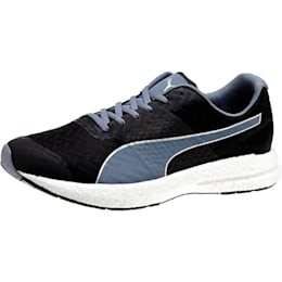 NRGY Running Shoes, black-folkstone gray, small-IND