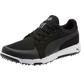 Grip Sport Men's Golf Shoes, Puma Black-Puma White, small-SEA