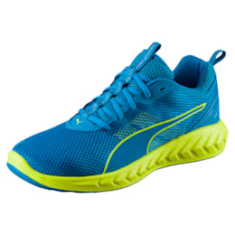 IGNITE Ultimate 2 Men's Running Shoes, BLUE DANUBE-Safety Yellow, small-IND