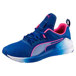 PUMA Fierce Lace Training Shoes, TRUE BLUE-KNOCKOUT PINK, small-IND