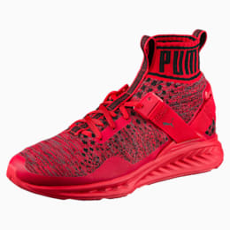 IGNITE evoKNIT Men's Training Shoes, Red-Black-Red, small