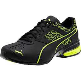 Tazon 6 Fracture FM Men's Sneakers, Puma Black-Safety Yellow, small