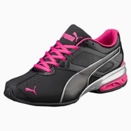 Tazon 6 FM Women's Sneakers, Black-silver-beetroot purple, small