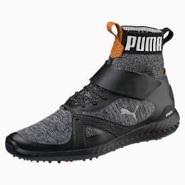 ゴルフ イグナイト パワーアダプト ハイトップ スパイクシューズ, Puma Black-Puma Silver, small-JPN