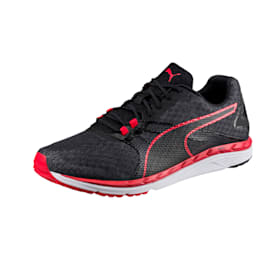 Speed 300 IGNITE 2 Men's Running Shoes, Black-QUIET SHADE-Toreador, small-IND