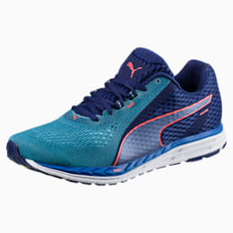 Speed 500 IGNITE 2 Men's Running Shoes, Blue Depths-Nrgy Turquoise, small-IND
