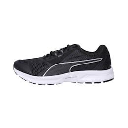 Essential Runner Men's Running Shoes, Puma Black-Puma Silver, small-IND