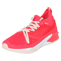 IGNITE XT NETFIT Women's Training Shoes, Paradise Pink-Puma White, small-IND