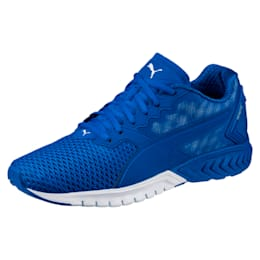 IGNITE Dual Mesh Men's Running Shoes, Lapis Blue-Quarry, small-IND