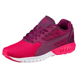 IGNITE Dual Mesh Women's Running Shoes, Dark Purple-Love Potion, small-IND