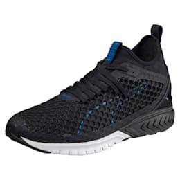 IGNITE Dual NETFIT Men's Running Shoes, Puma Black-Turkish Sea, small-IND