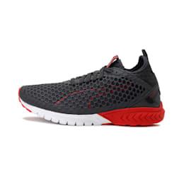 IGNITE Dual NETFIT Men's Running Shoes, Asphalt-High Risk Red, small-IND