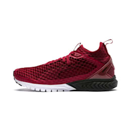 IGNITE Dual NETFIT Men's Running Shoes, Pomegranate, small-IND