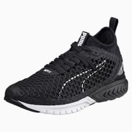 IGNITE Dual NETFIT Women's Running Shoes, Puma Black-Puma White, small-IND