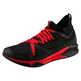 IGNITE XT NETFIT Men's Training Shoes, Puma Black-Flame Scarlet, small-IND