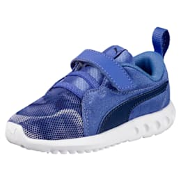 Carson 2 Mineral V PS Girls' Trainers, Baja Blue-Blue Depths, small-IND