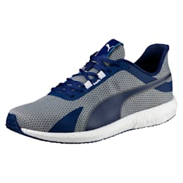 Mega NRGY Turbo Men's Running Shoes, Blue Depths-Puma White, small-IND