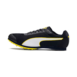 evoSPEED Star 6 Men's Track Spikes, Peacoat-Puma Black-Yellow, small