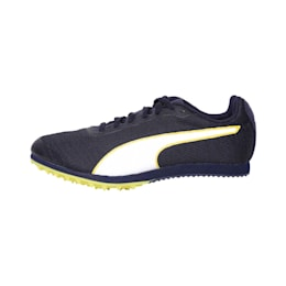 evoSPEED Star 6 Kids' Running Shoes, Peacoat-Puma Black-Yellow, small-IND