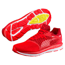 Speed 600 IGNITE 3 Men's Running Shoes, Scarlet-Red Dahlia-White, small-IND