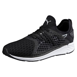 IGNITE 4 NETFIT Men's Running Shoes, Puma Black, small-IND