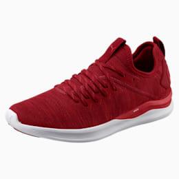 IGNITE Flash evoKNIT Men's Training Shoes, Red Dahlia-Red-White, small