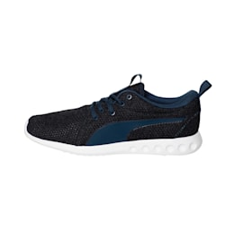 Carson 2 Nature Knit Men's Trainers, Sargasso Sea-Peacoat, small-IND