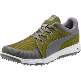 GRIP Sport Tech Men's Golf Shoes, QUIET SHADE-QUIET SHADE-Lime, small