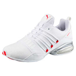 Cell Pro Limit Men's Running Shoes, Puma White-High Risk Red, small-IND