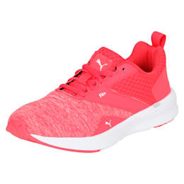 NRGY Comet Kids' Running Shoes, White-Paradise Pink-White, small-IND