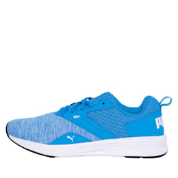 NRGY Comet Kids' Running Shoes, Indigo Bunting-Puma White, small-IND