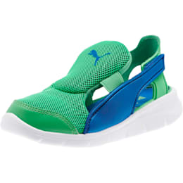 Bao 3 Open Little Kids' Shoes, Surf The Web-Irish Green, small
