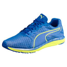Speed 300 IGNITE 3 Men's Running Shoes, Turkish Sea-Peacoat-Yellow, small-IND