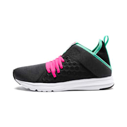 Enzo NETFIT Mid Women's Shoes, Puma Black-KNOCKOUT PINK, small-IND