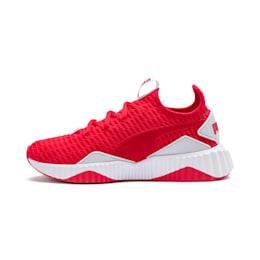 Defy Women's Training Shoes, Hibiscus -Puma White, small